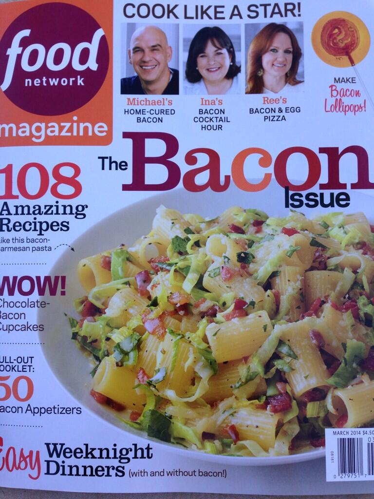 Food Network Magazine: The Bacon Issue