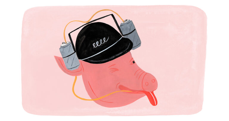 Lucky Peach: Drink Like a Pig