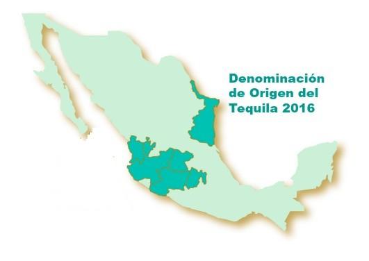 Denominacion de Origen del Tequila en Mexico