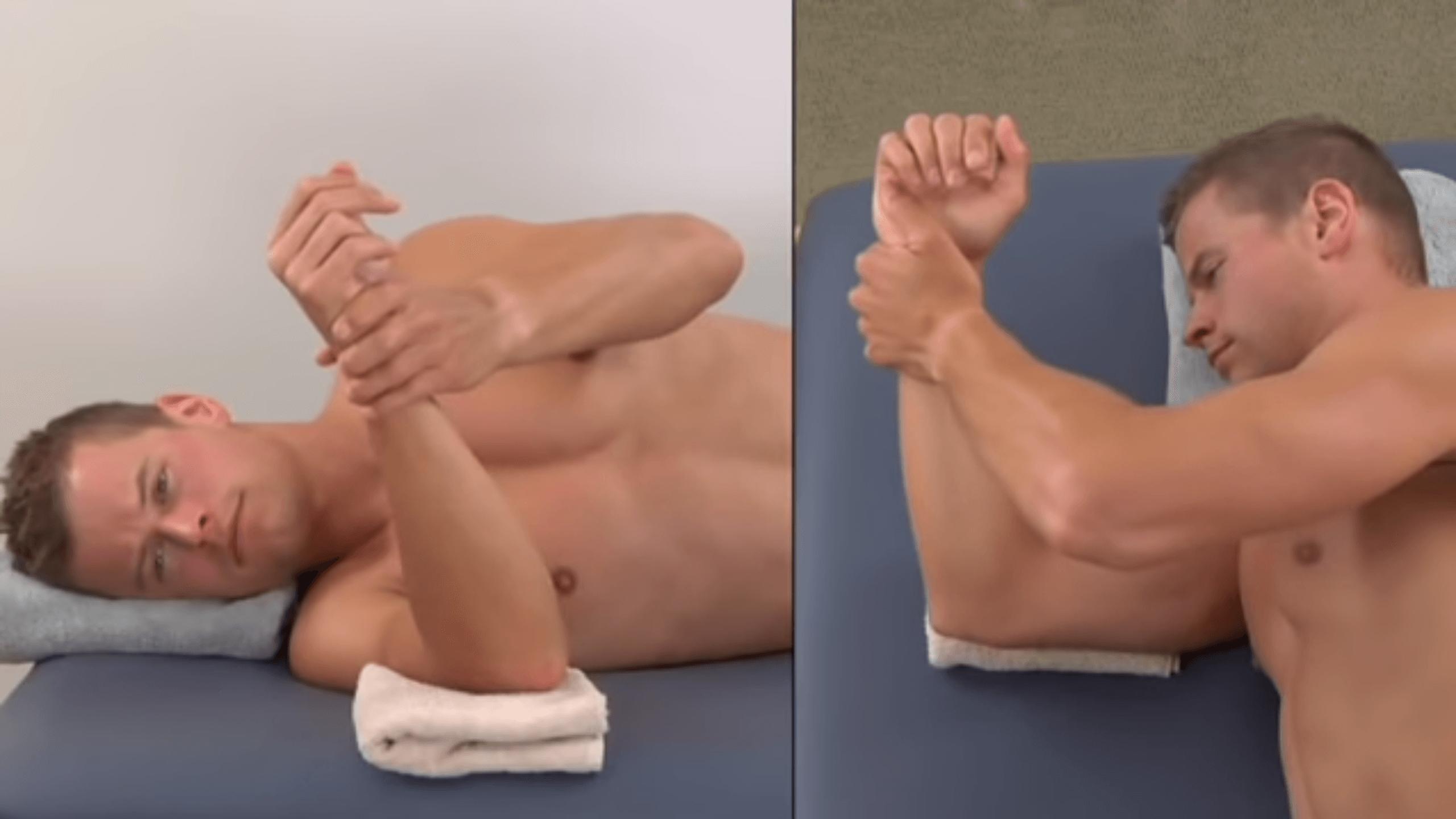 Shoulder External Rotation Stretch