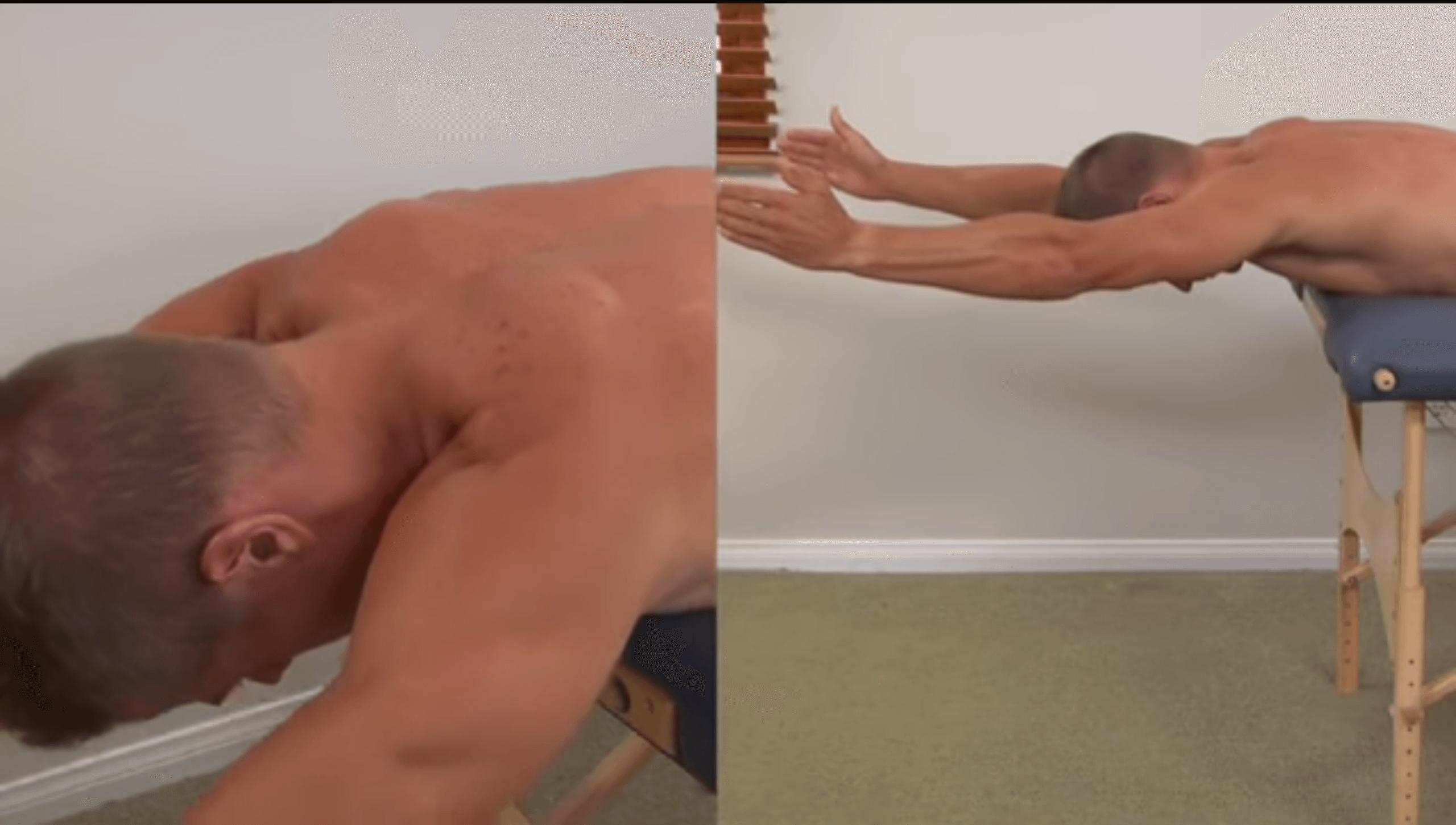 Scapula Rotators Stretch