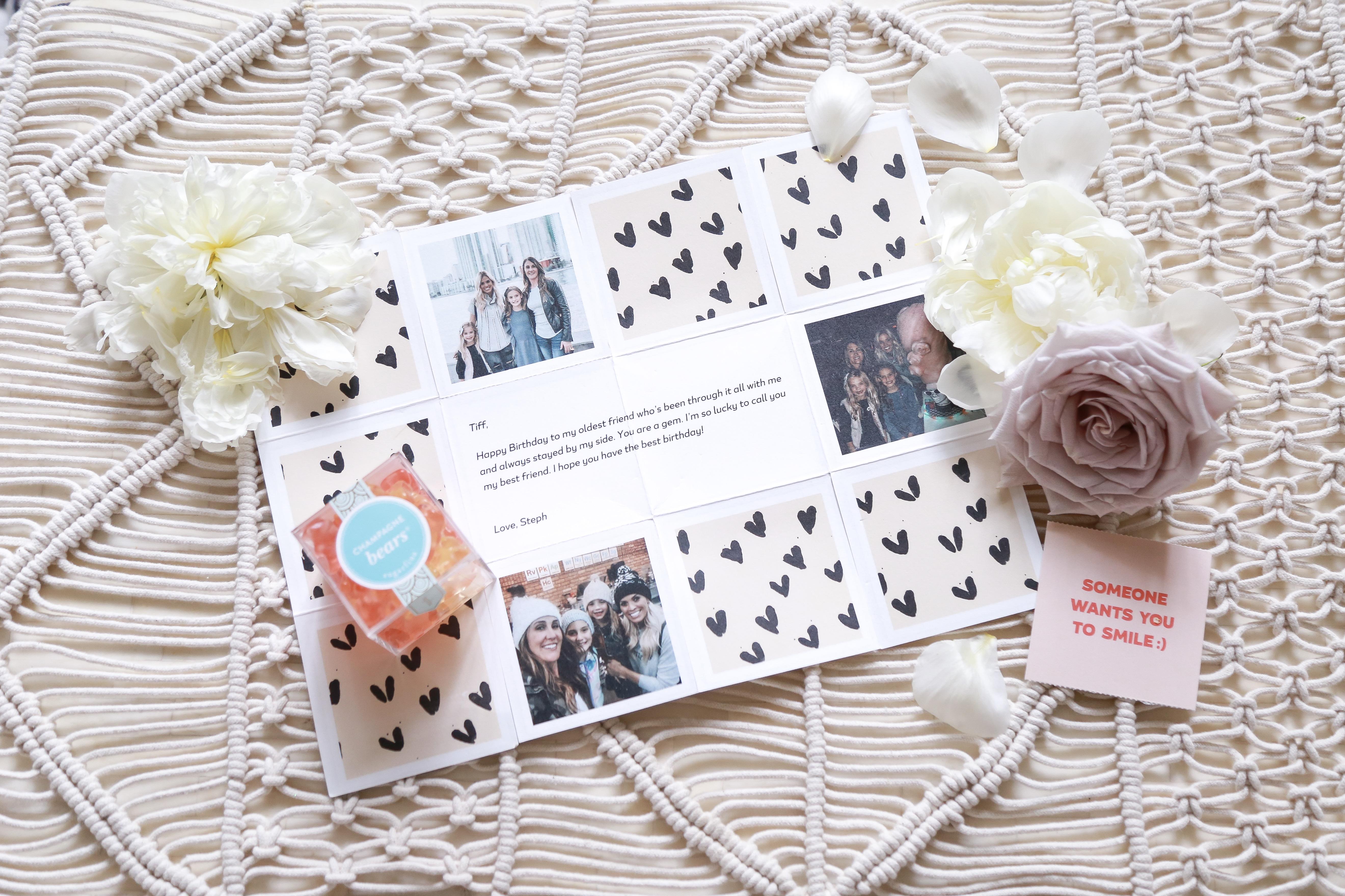 Birthday greeting card, Greetabl Celebration Boxes