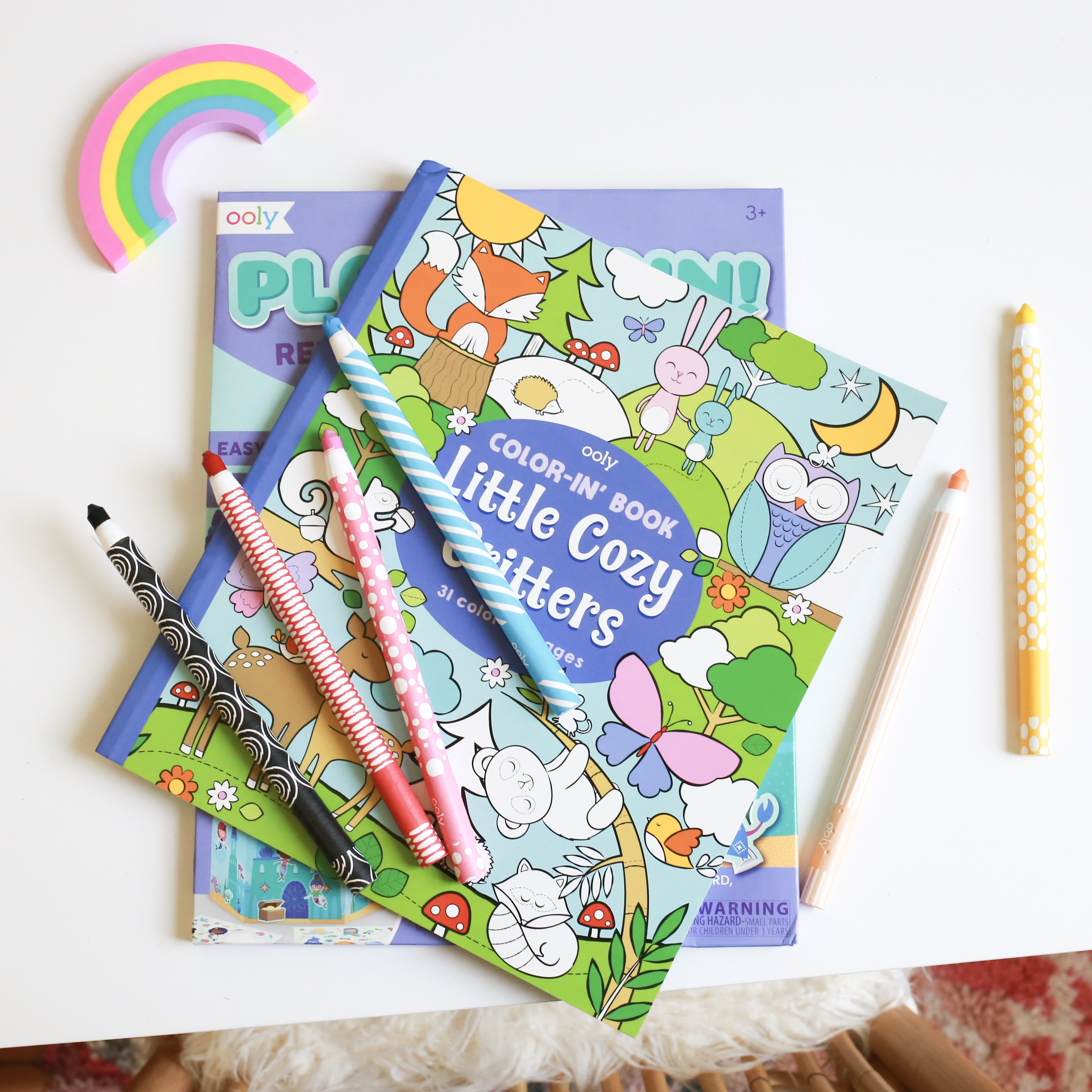 Ooly art supplies, coloring books for kids