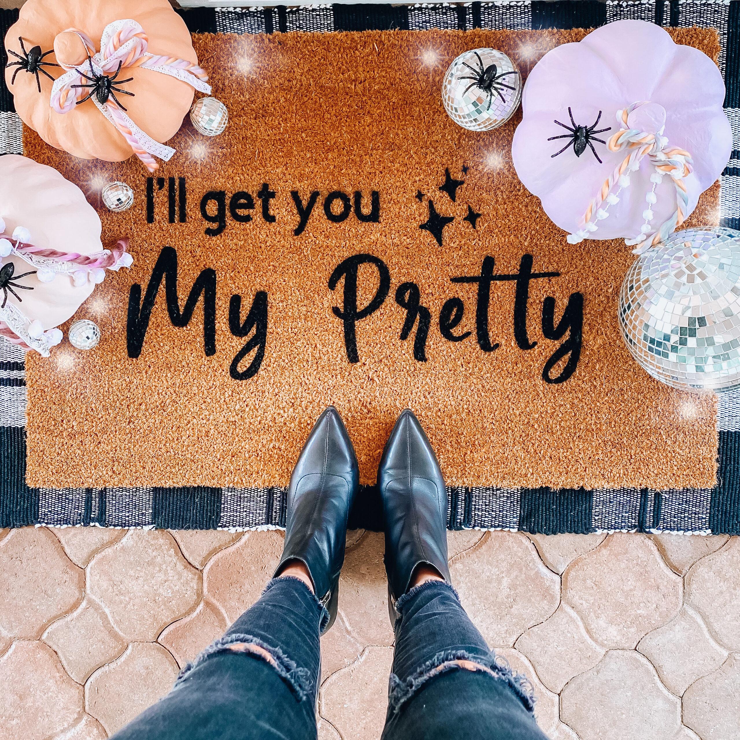 I'll get you my Pretty fall doormat