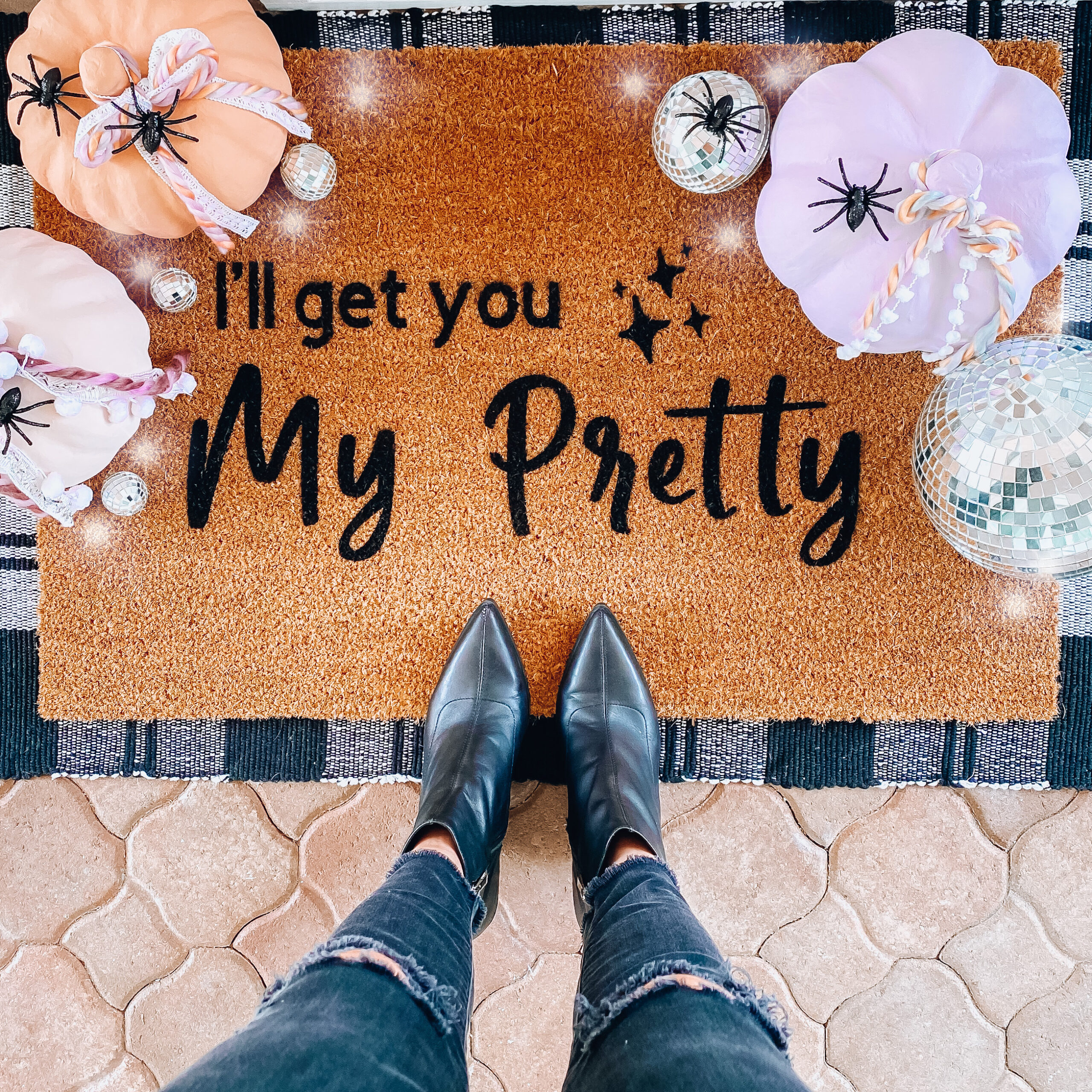 DIY Fall Doormats