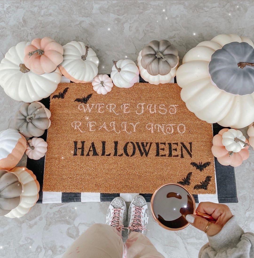 How to Make a DIY Halloween Doormat