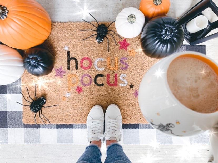 Hocus Pocus Fall Doormat