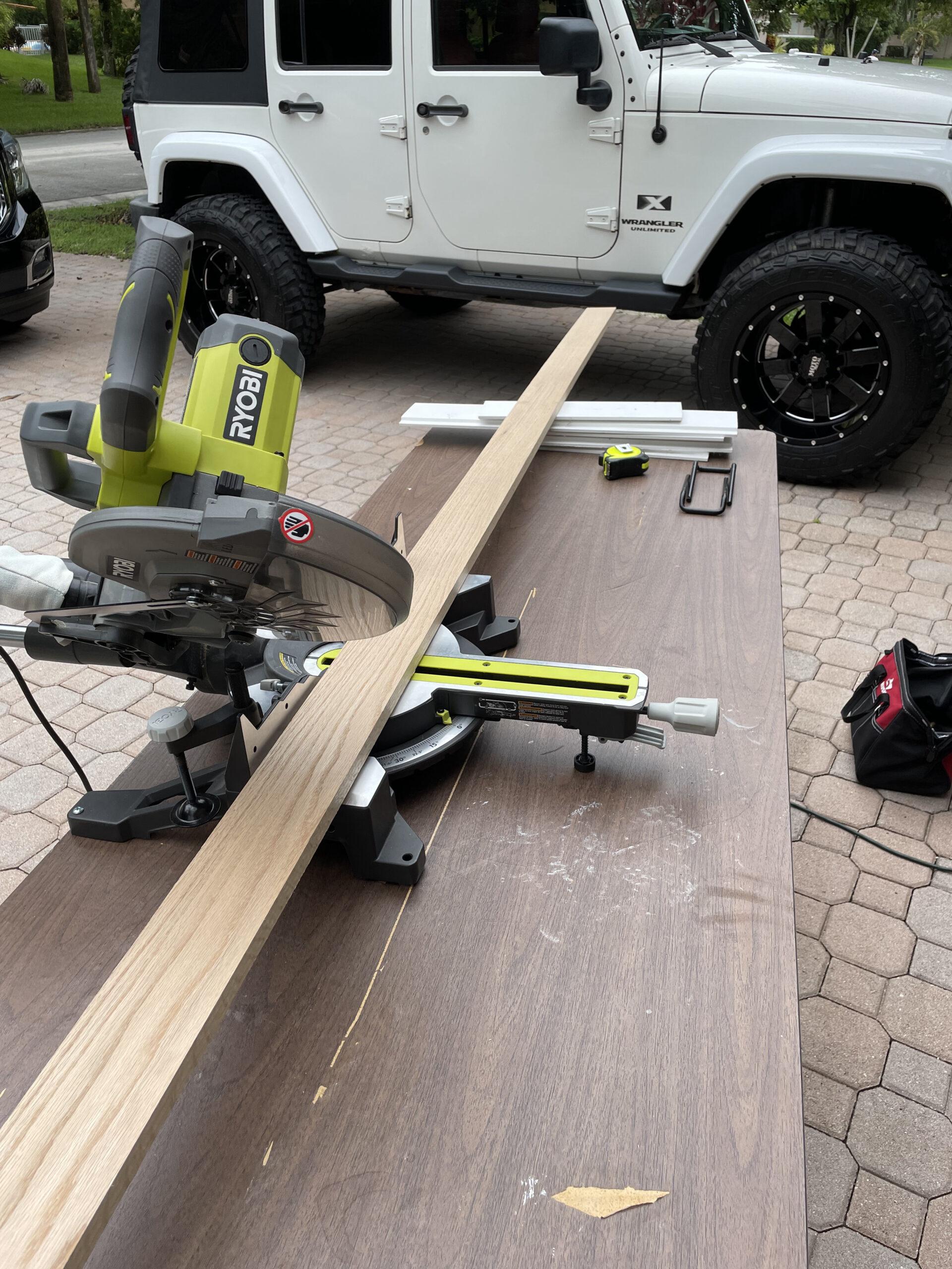 DIY - Craft Table Framing - Tutorial