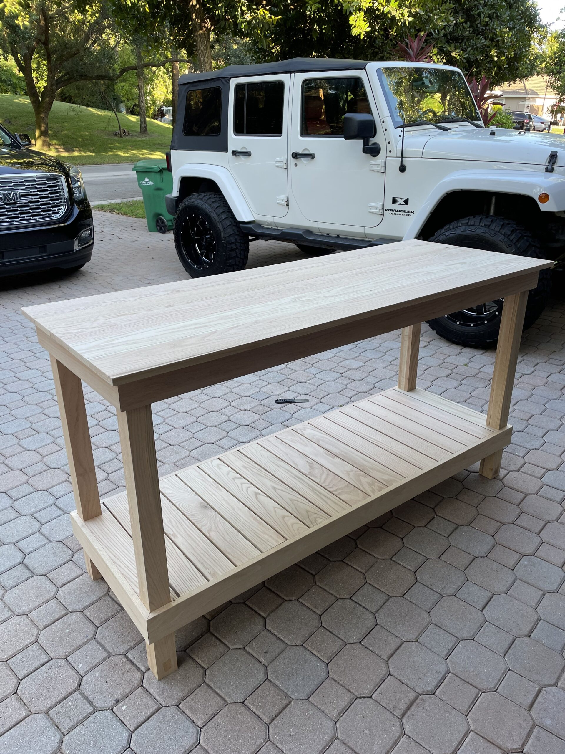 DIY Craft Table Tutorial