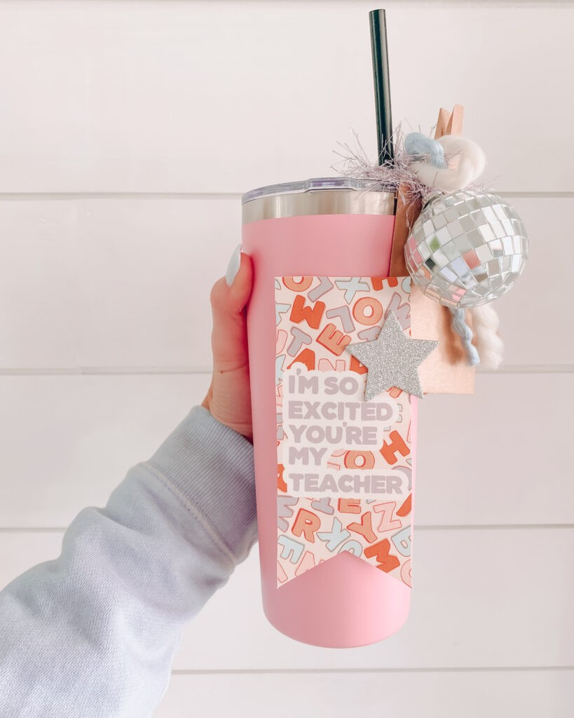 Teacher gift ideas, gifts for teachers, insulted cup for teachers, back to School ideas