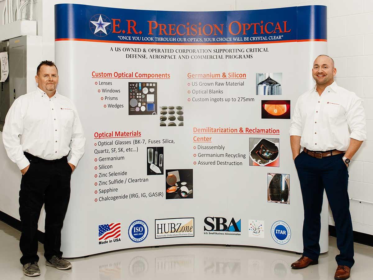 E.R. Optics Trade Show Booth