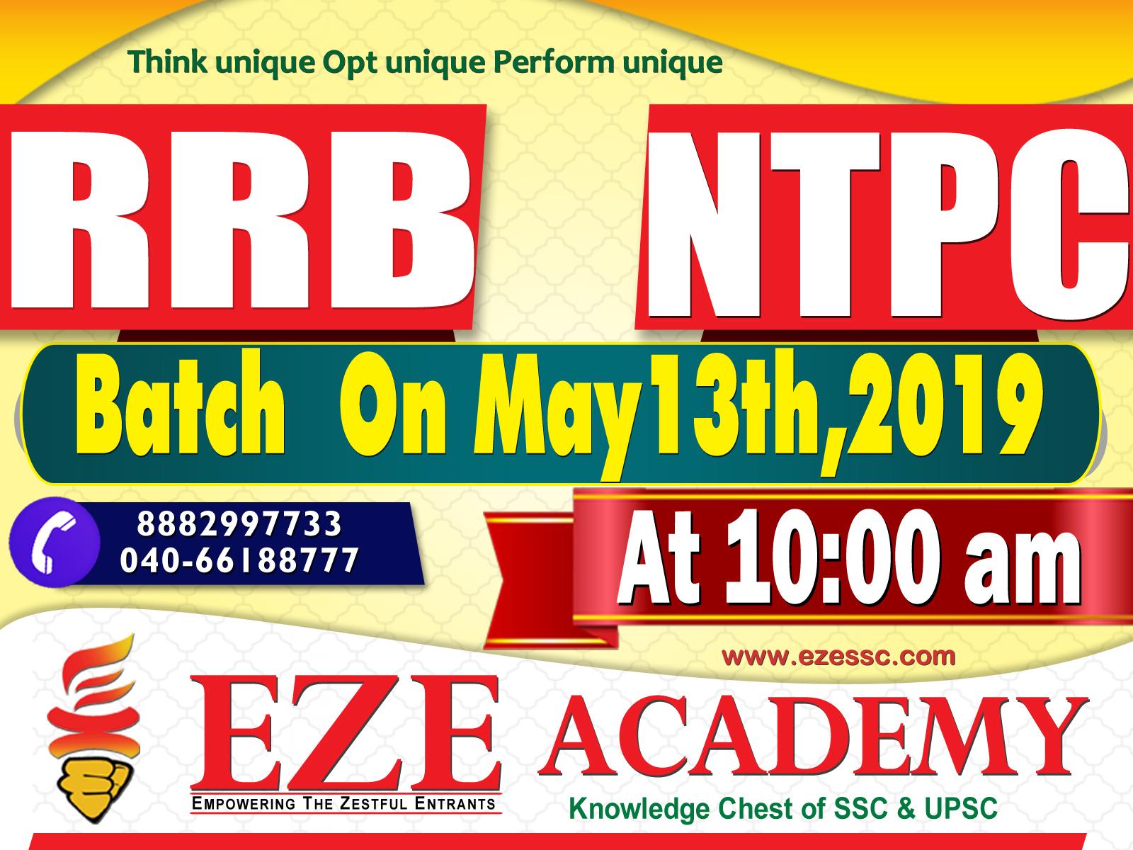 rrb ntpc coaching classes in hyderabad ashok nagar