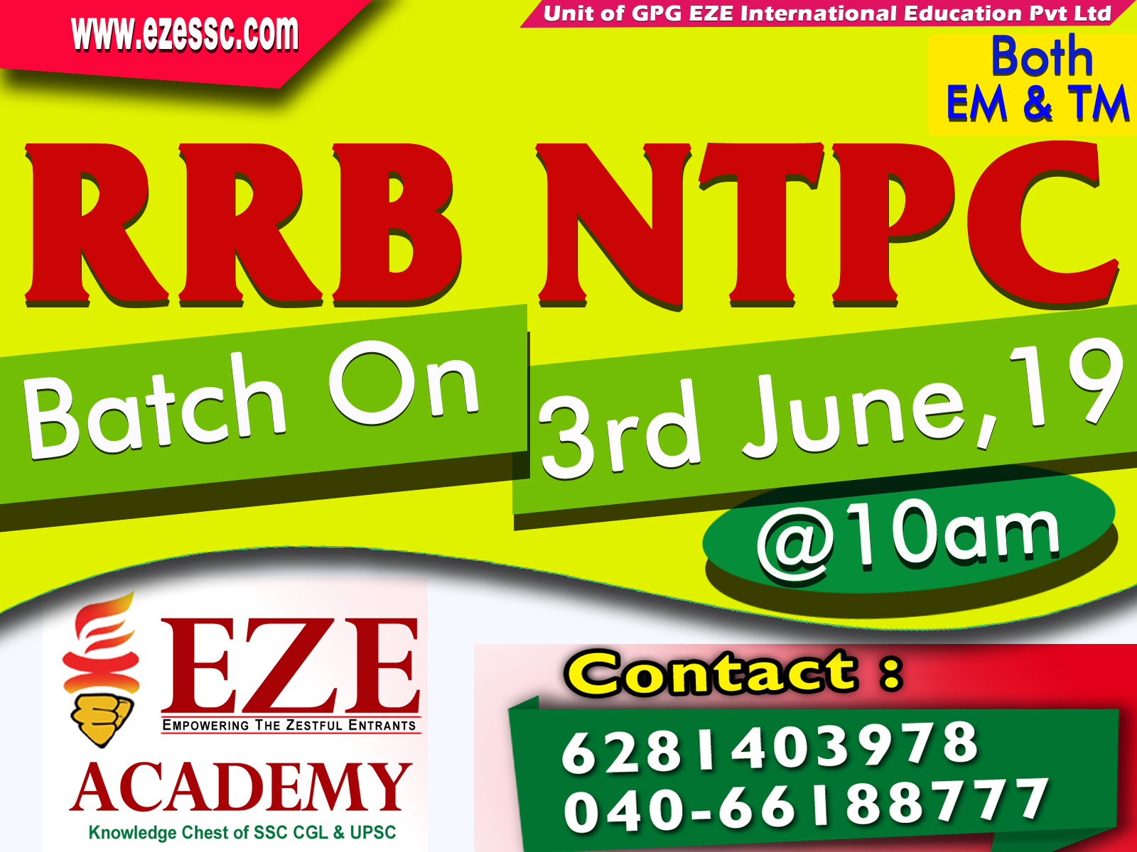 ntpc mains coaching centers in hyderabad secunderabad