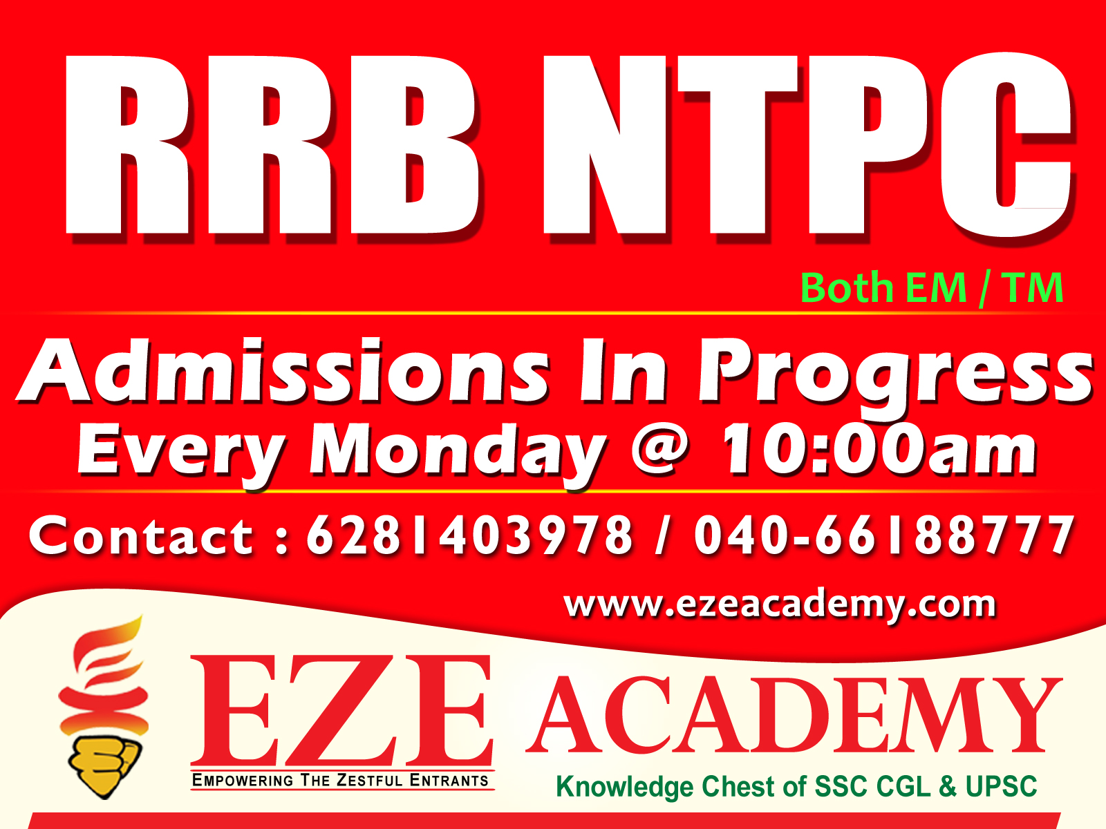 rrb ntpc cbt2 coaching center in hyderabad