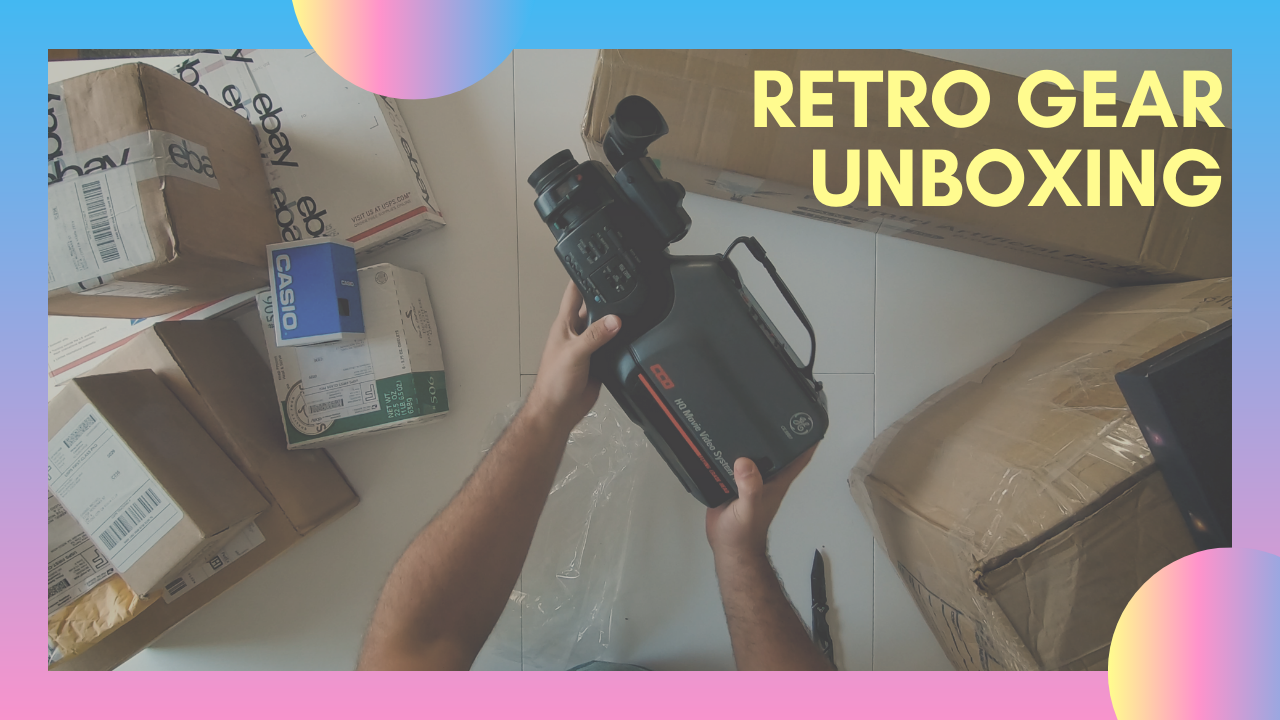 Retro Gear Unboxing | MIDNIGHT TELEVISION