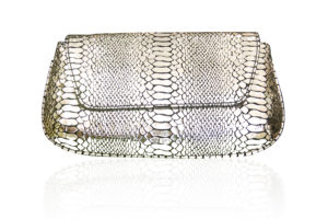 DIVA GENUINE LEATHER EVENING CLUTCH