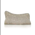 DIVA LUXE LIMITED EDITION SILVER EVENING CLUTCH