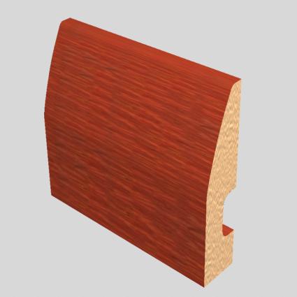 Laminated Baseboard Caoba #2386