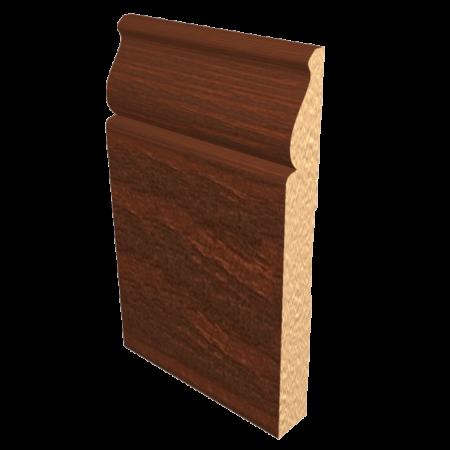 Laminated Baseboard Dark Oak #4386