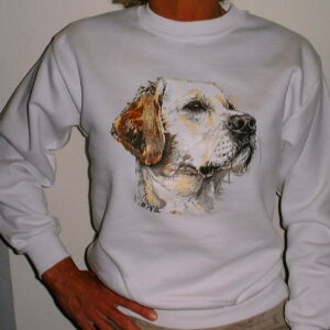 lab sweatshirt white