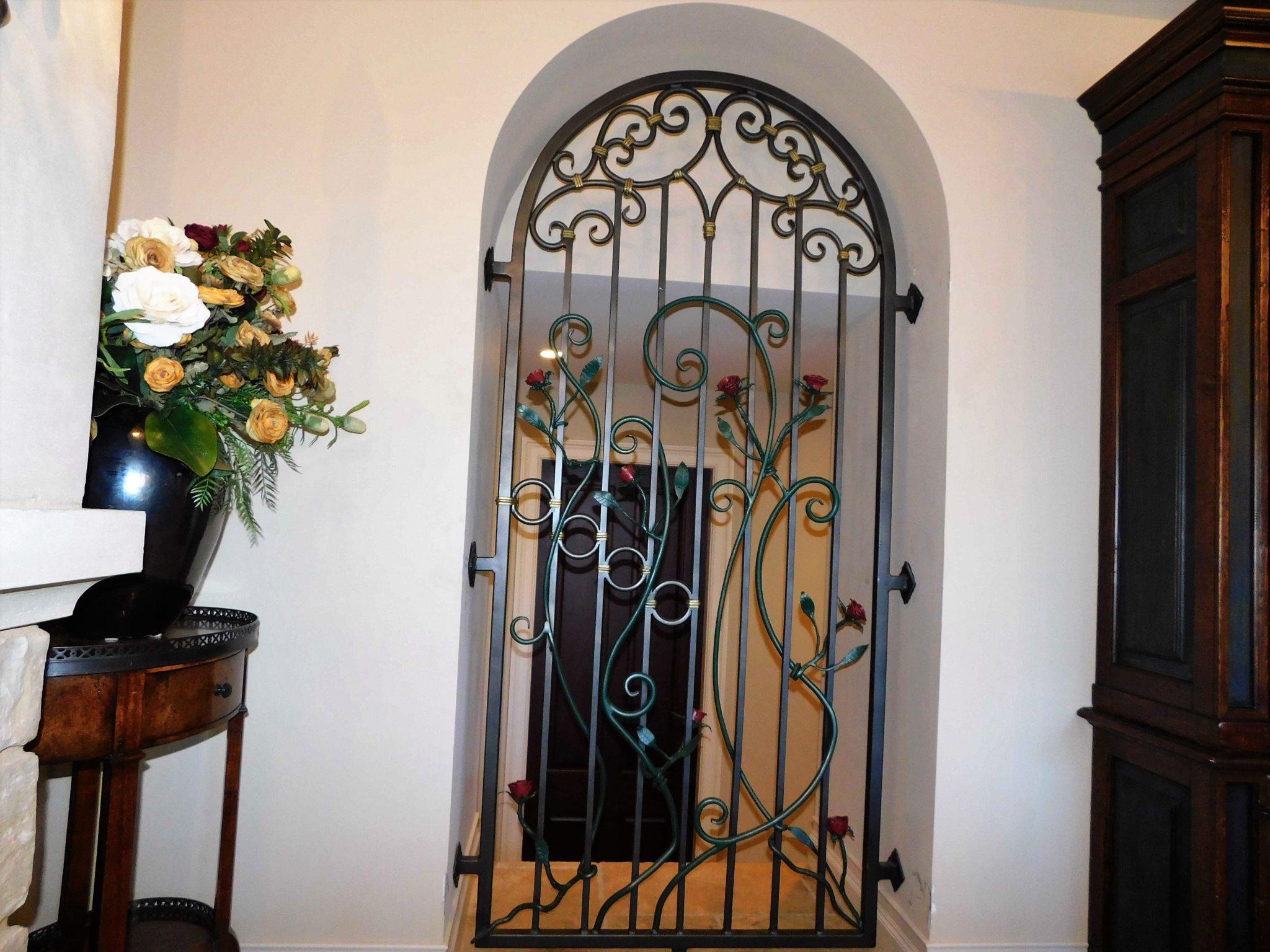 Iron Door Gate