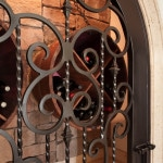Iron Gate on a front door