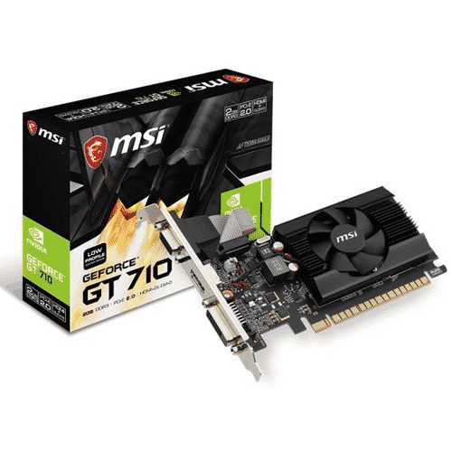 MSI NVIDIA GEFORCE GT 710V 2GB