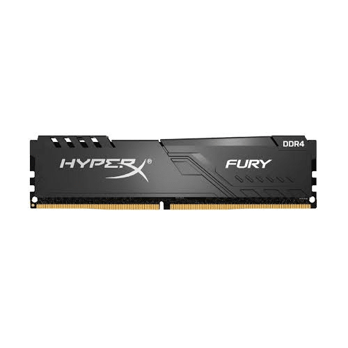 MEMORIA HYPER FURY BLACK 8GB KINGSTON DDR4 PC-3000