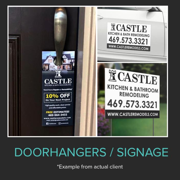 Doorhangers Signage