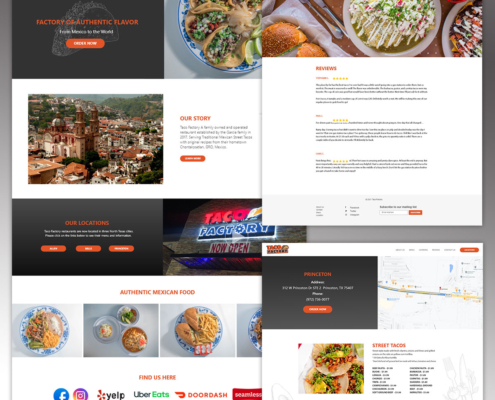 Taco Factory Website