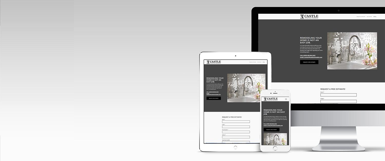 Website Design For Castle Remodels