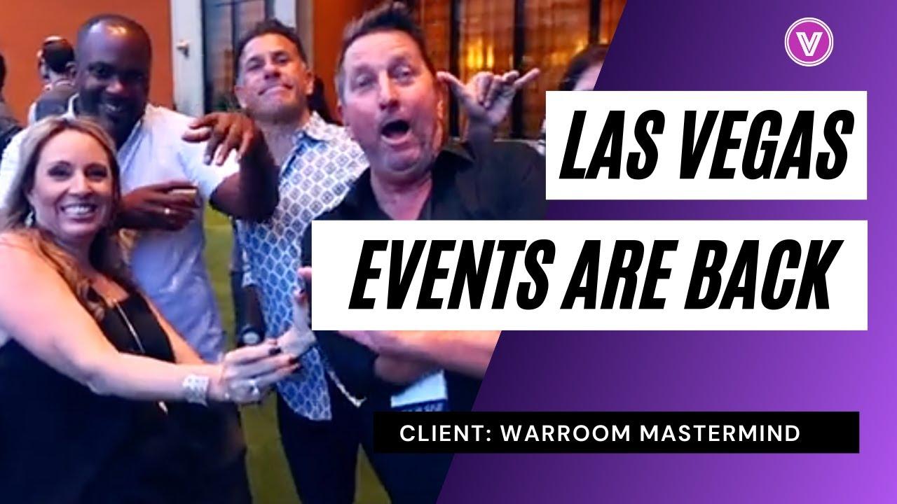 Warroom Vegas Event