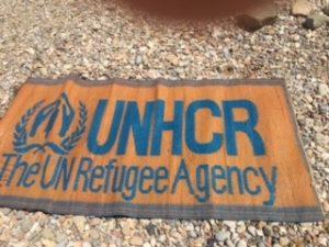 Refugee camp UNHCR Greece