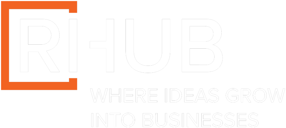 RIHub Logo, where ideas turn into businesses