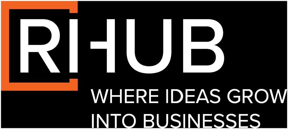 RIHub Logo, where ideas turn into businesses