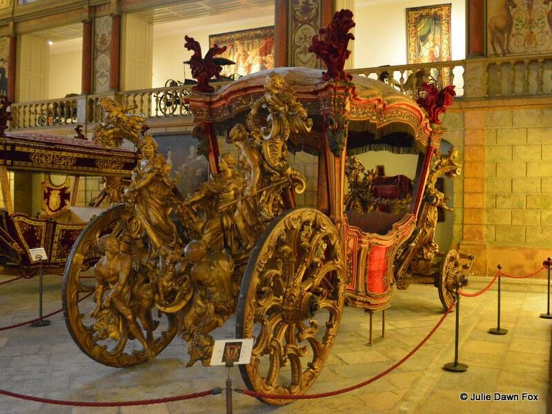 Flamboyant coach, National Coach Museum, Lisbon