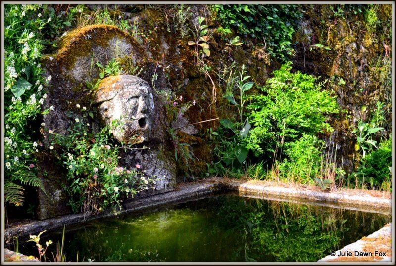 Stone water feature, Quinta da Agra