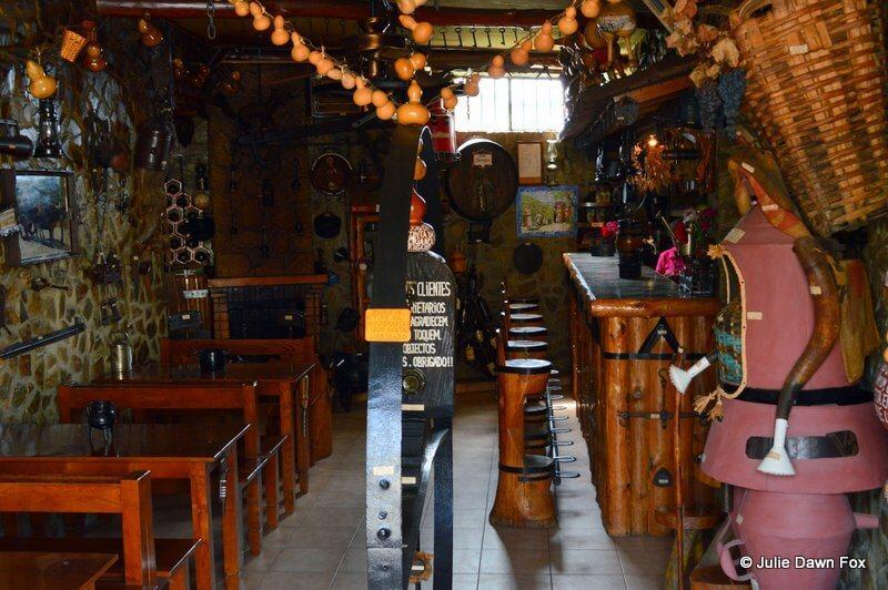 'O Arado' museum and bar, Provesende, Douro valley, Portugal