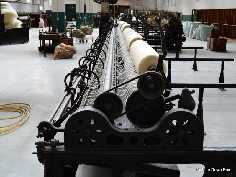 Wool machine, Burel factory, Manteigas, Portugal