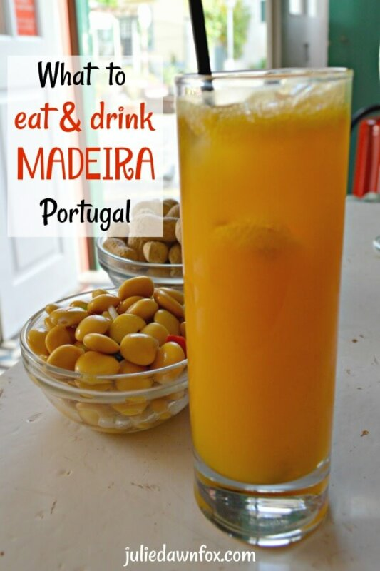 Food and drink in Madeira