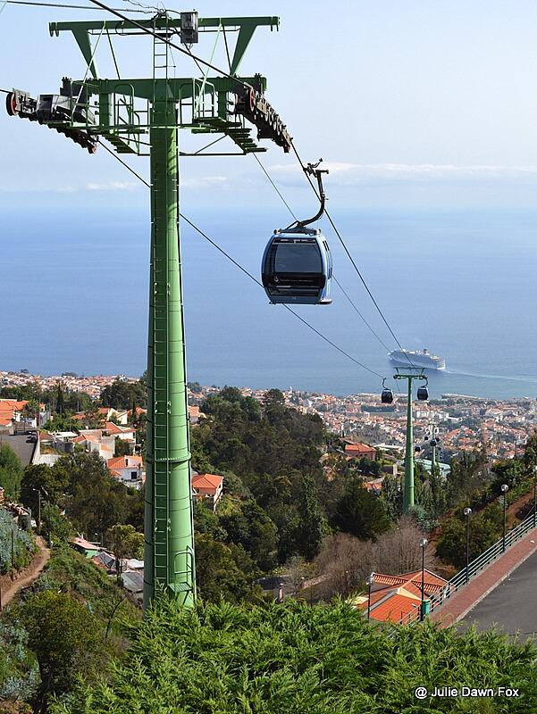Monte cable car, Funchal, Madeira
