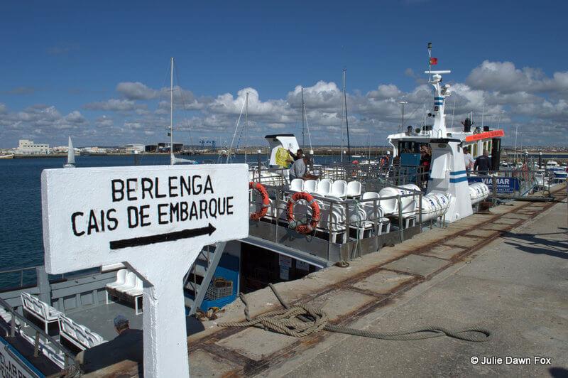 Boarding quay, Peniche marina