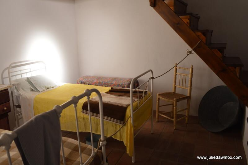 Bedroom, Miner's house, Mértola