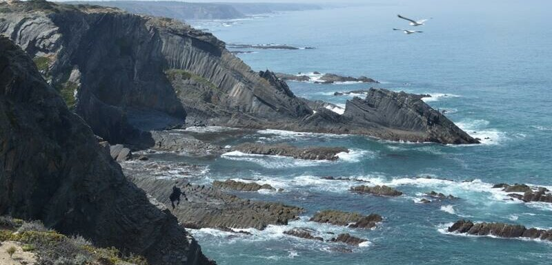 Dragon rocks and seagulls, Rota Vicentina