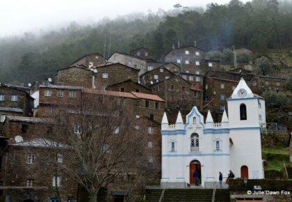Historical schist village of Piodão in central Portugal. Photo by Julie Dawn Fox