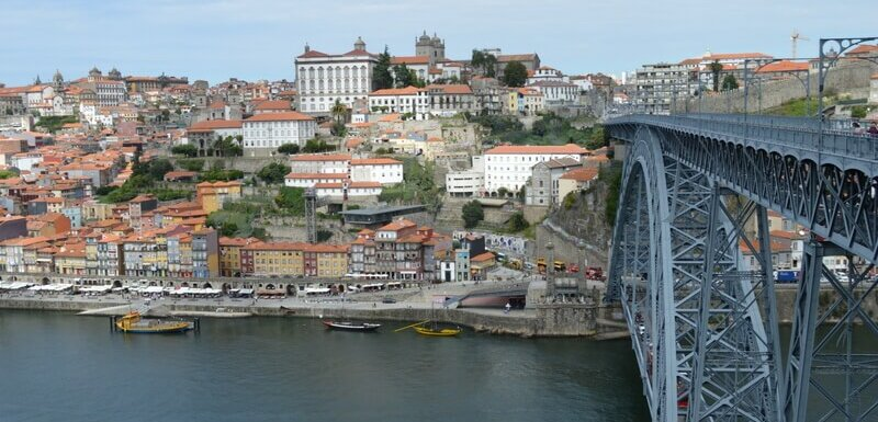 Porto and Dom Luís I bridge