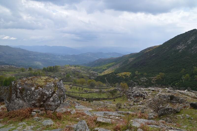 GR hiking trail near Bostelinhos, Peneda-Gerês National Park
