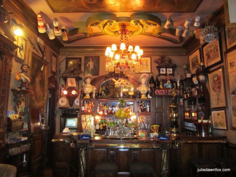 Collections around the bar, Pavilhão Chinês, Lisbon
