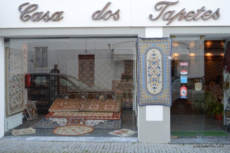 Rug shop, Arraiolos