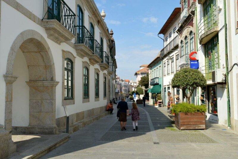 Rua Direita, Esposende historical centre
